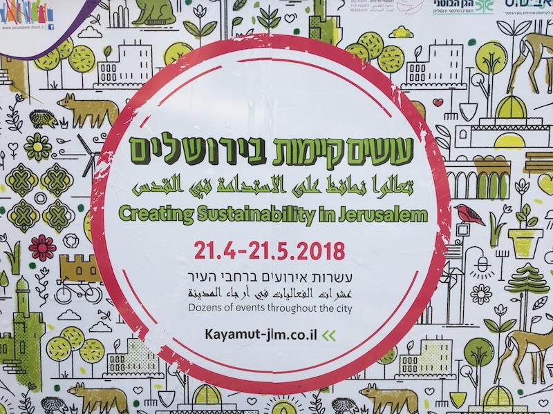 Urban Sustainability In Jerusalem And Tel Aviv Events Workshops